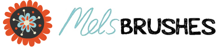 Mels Brushes Logo
