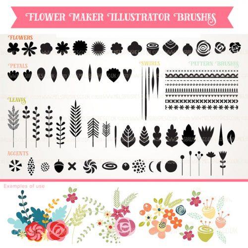 Shop Handcrafted Design Resources - Vector Illustrations, Patterns