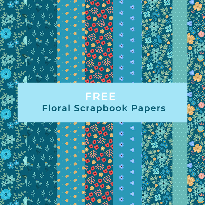 Free Digital Scrapbook Papers