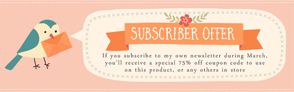 Subscribe to Mels Brushes Newsletter