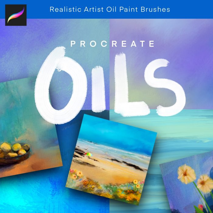 Procreate Oil paint brushes