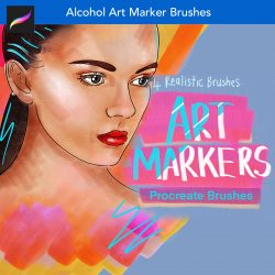 Procreate Alcohol Copic Art Markers