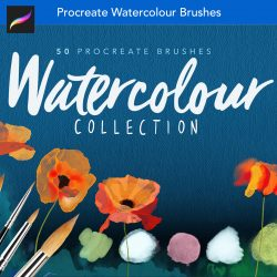 Procreate Real Watercolour Brushes