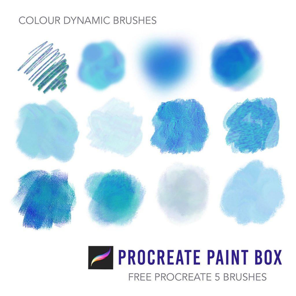 free procreate 5 brushes