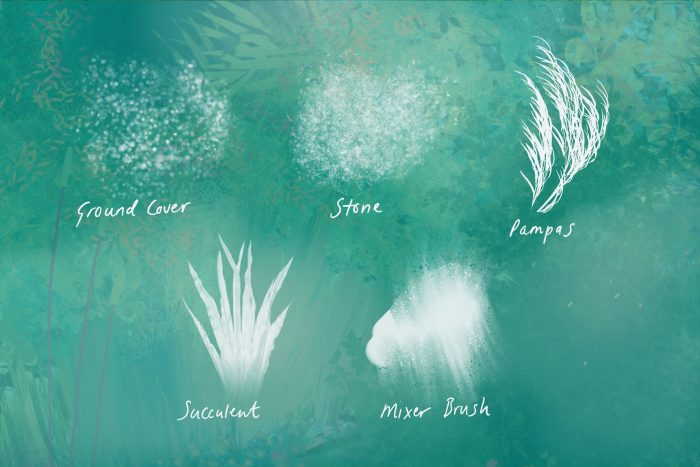 Nature Landscape Painting Procreate Brushes