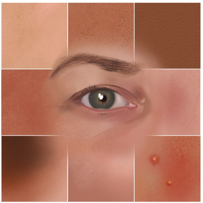 Skin Portrait Brushes Procreate