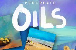 Procreate Oil paint brushes