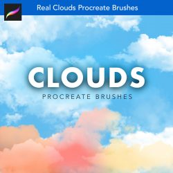 Clouds Procreate Brushes