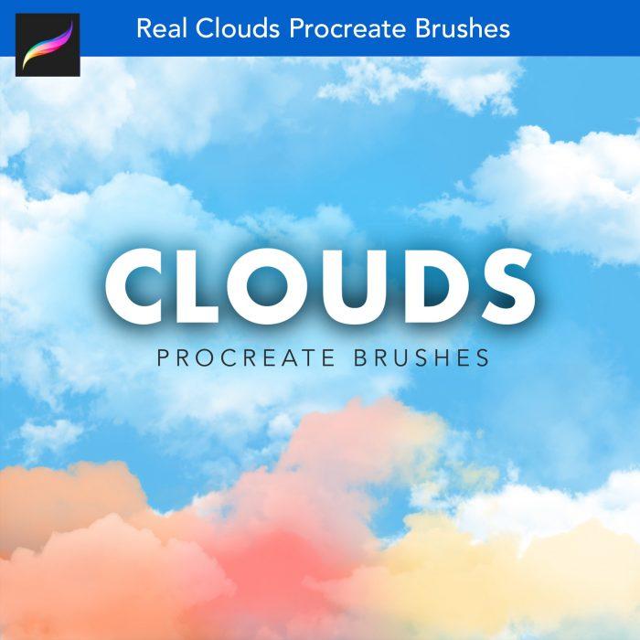 Clouds Procreate Brushes