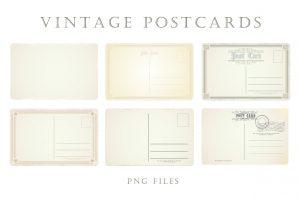 free vintage postcards