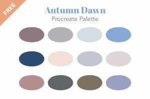 Free Procreate swatch palette